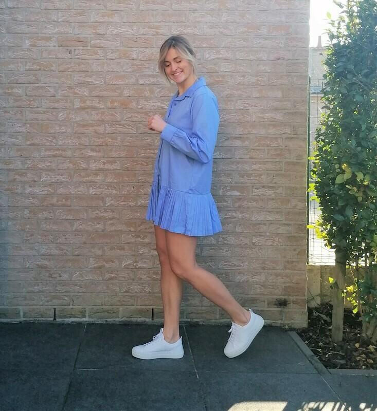 Stacey dress ~ blue