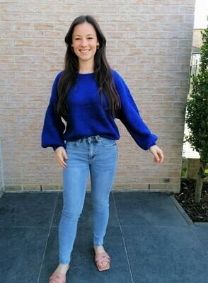 Summer sweater ~ blue