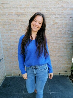 Soft sweater ~ blue