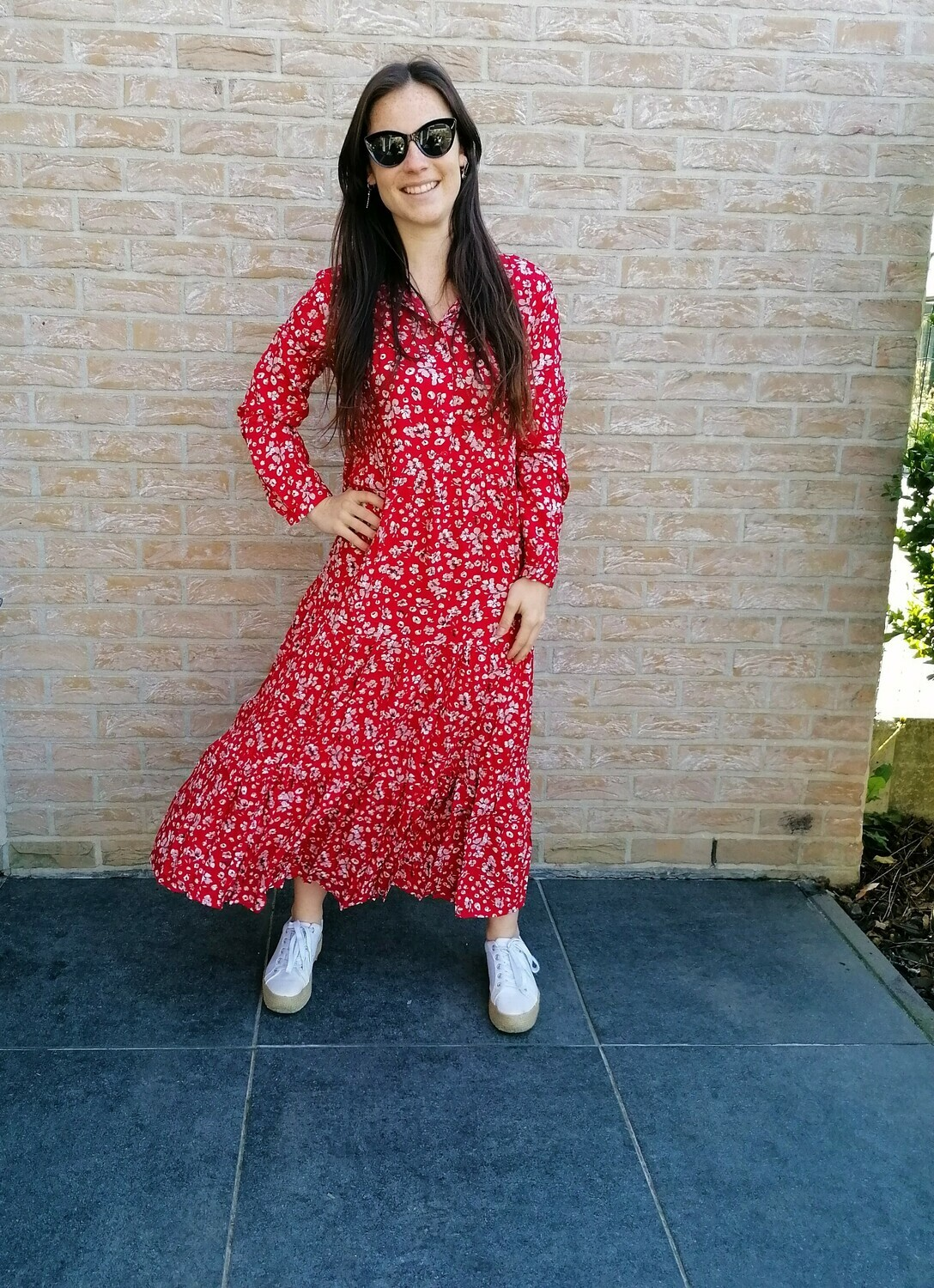 Florence dress ~ red