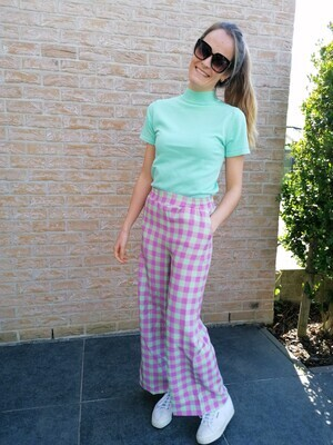 Evita pants ~ lilac