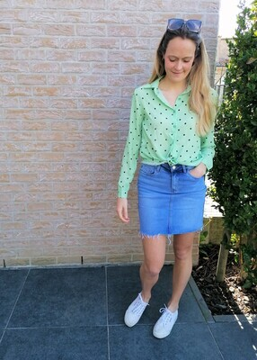 Dotsy blouse