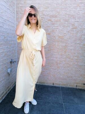 Long dress ~ yellow