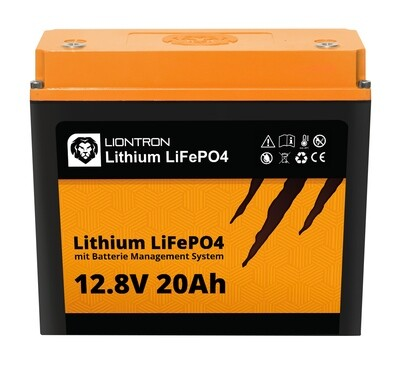 LIONTRON Lithium LiFePO4 LX 12,8V 20Ah