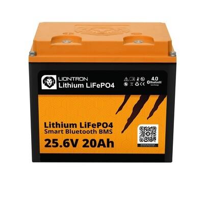 LIONTRON LiFePO4 25,6V 20Ah LX Smart BMS mit Bluetooth