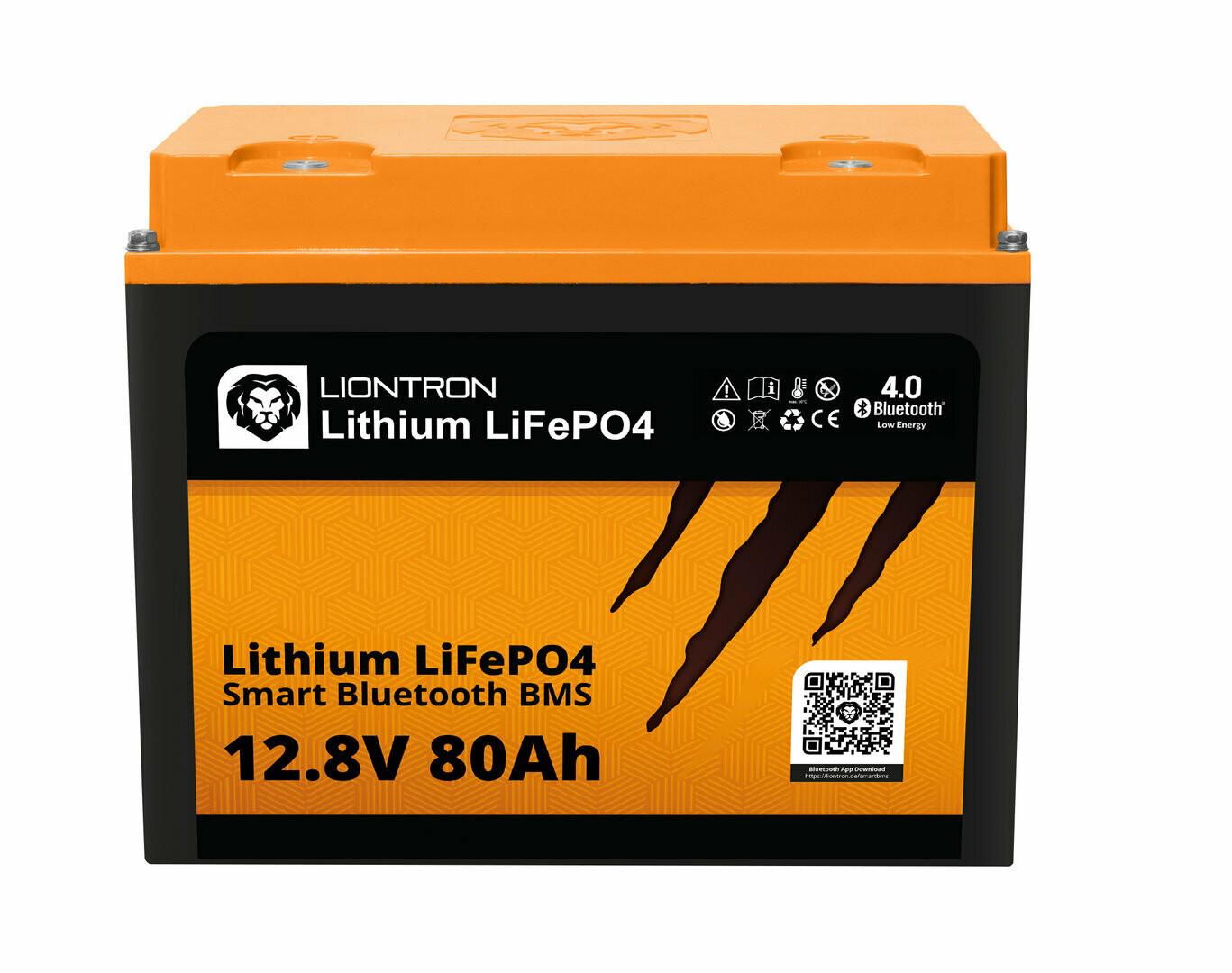LIONTRON Lithium LiFePO4 LX Smart BMS 12,8V 80Ah