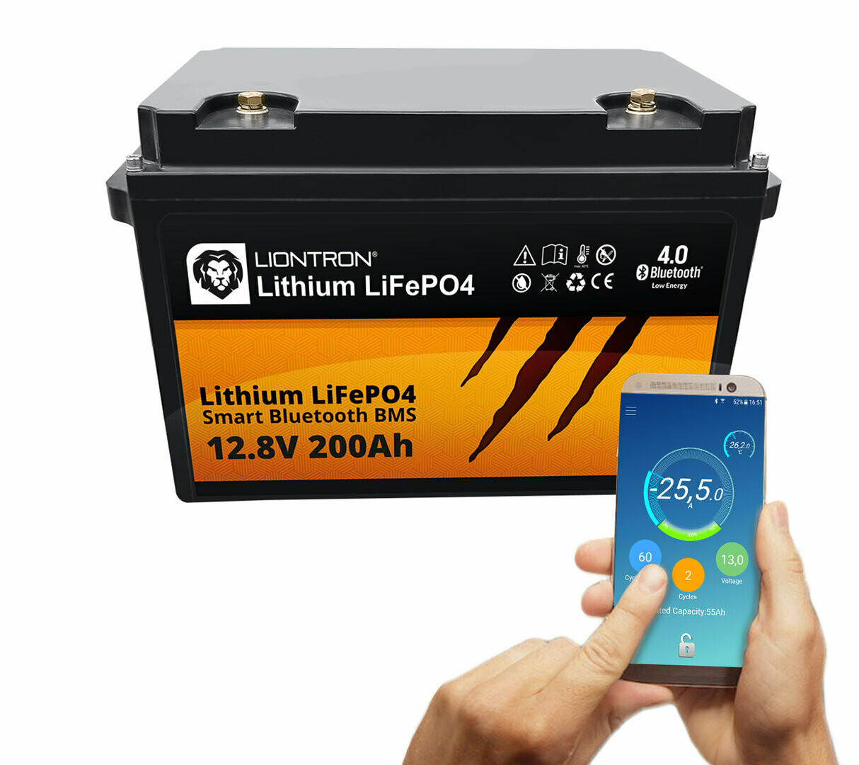 LIONTRON Lithium LiFePO4 LX Smart BMS 12,8V 200Ah
