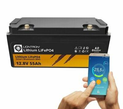 LIONTRON Lithium LiFePO4 LX Smart BMS 12,8V 55Ah