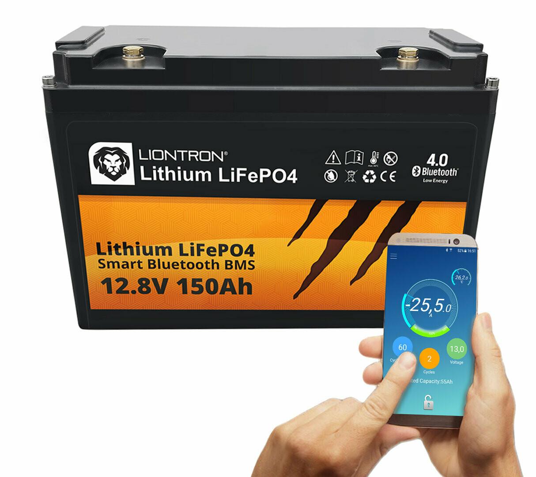 LIONTRON Lithium LiFePO4 LX Smart BMS 12,8V 150Ah