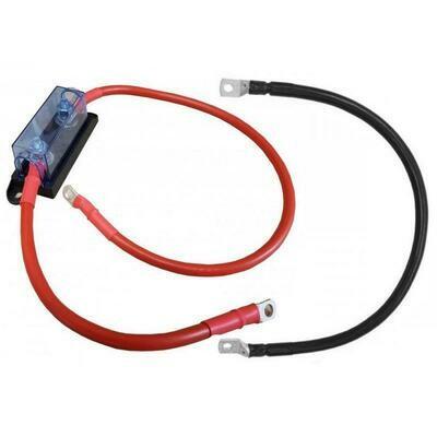 Kabel mit Sicherungshalter 2m / 25mm2