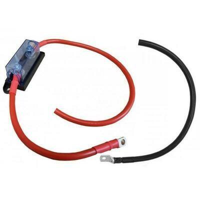 Kabel mit Sicherungshalter 1m / 35mm2