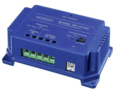 Batterie Reisemobil Booster 25 A inkl. Temperaturfühler
