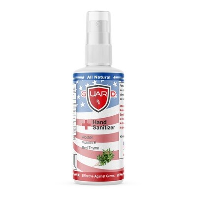 GuardRx Spray Hand Sanitizer 8 FL OZ - Anti-Viral