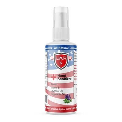 GuardRx Spray Hand Sanitizer 8 FL OZ - Lavender & Peppermint