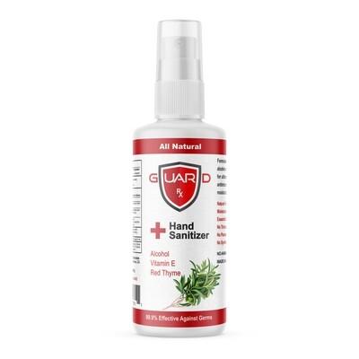 GuardRx Spray Hand Sanitizer 4 FL OZ - Anti-Viral