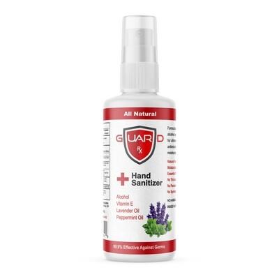 GuardRx Spray Hand Sanitizer 4 FL OZ - Lavender & Peppermint