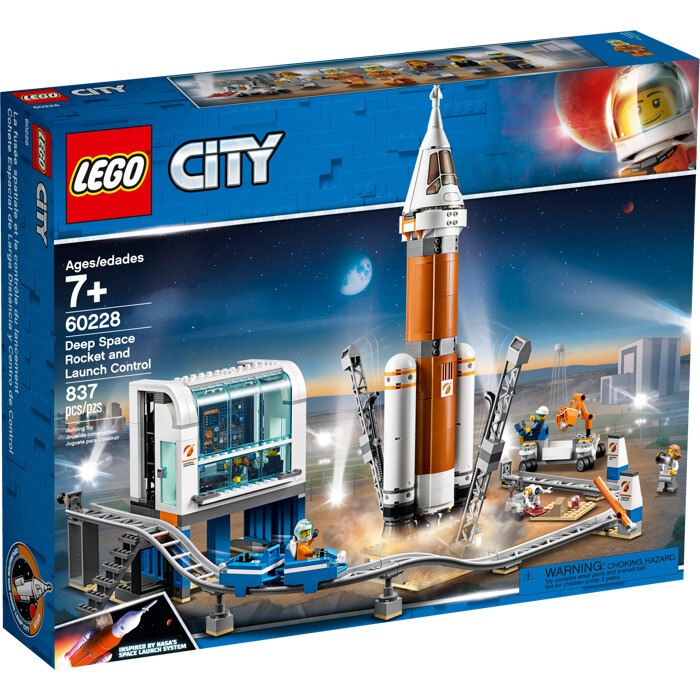 LEGO® City Deep Space Rocket and Launch Control (60228)