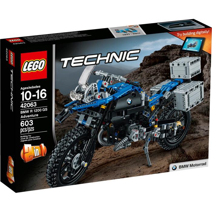 LEGO® Technic™ BMW R 1200 GS Adventure (42063)