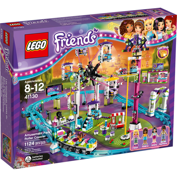 LEGO® Friends Amusement Park Roller Coaster (41130)