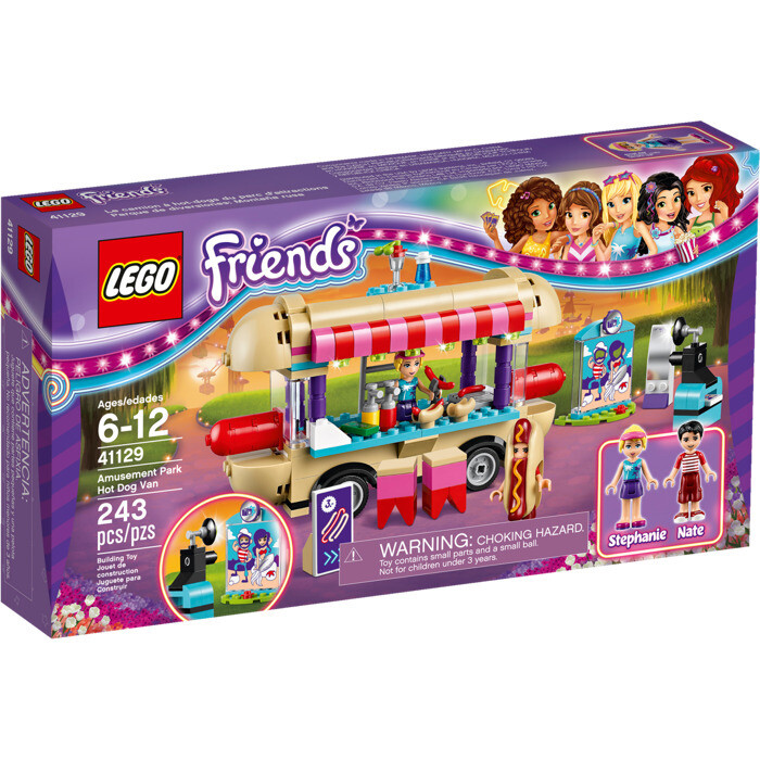 LEGO® Friends Amusement Park Hot Dog Van (41129)