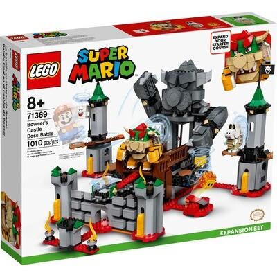 LEGO® Super Mario™ Bowser's Castle Boss Battle Set (71369) & Adventures with Mario Starter Course (71360)