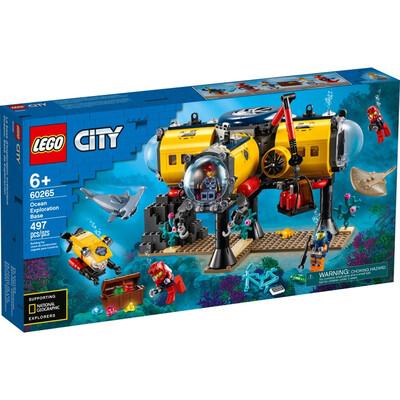 LEGO® City Ocean Exploration Base (60265)