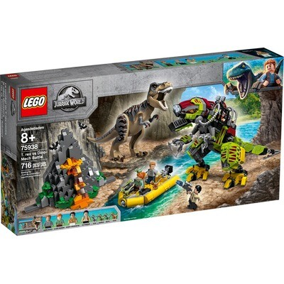LEGO® t-rex vs dino mech battle (75938)