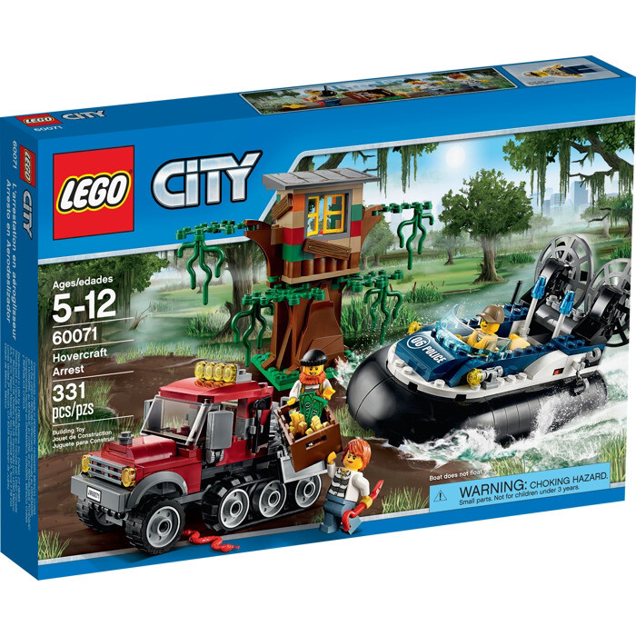 LEGO® City Hovercraft Arrest (60071)