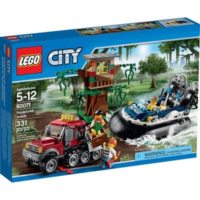 LEGO® City Hovercraft Arrest (60071)