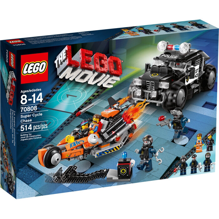 THE LEGO® MOVIE Super Cycle Chase (70808)