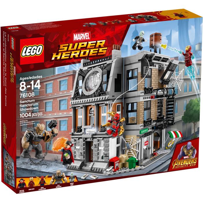 The LEGO® Sanctum Sanctorum Showdown (76108)