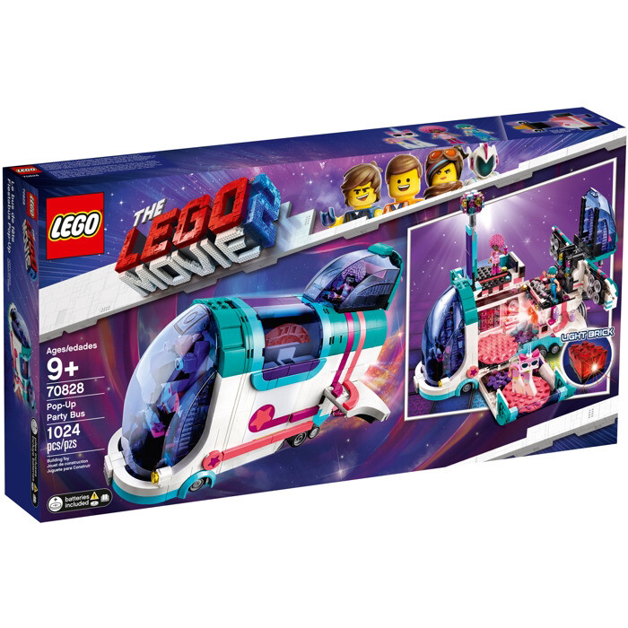 THE LEGO® MOVIE 2™ Pop-Up Party Bus (70828)