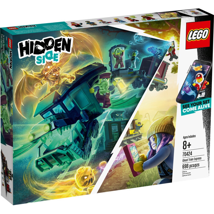 LEGO® Hidden Side™ Ghost Train Express (70424)