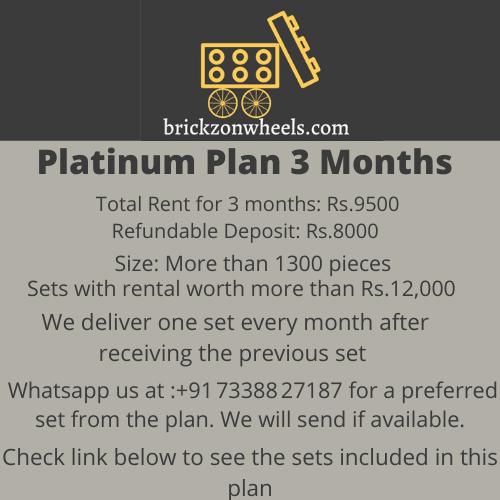 Platinum Plan - 3 Months