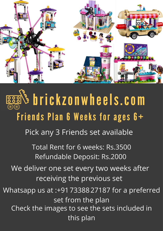 Friends Plan - 6 Weeks