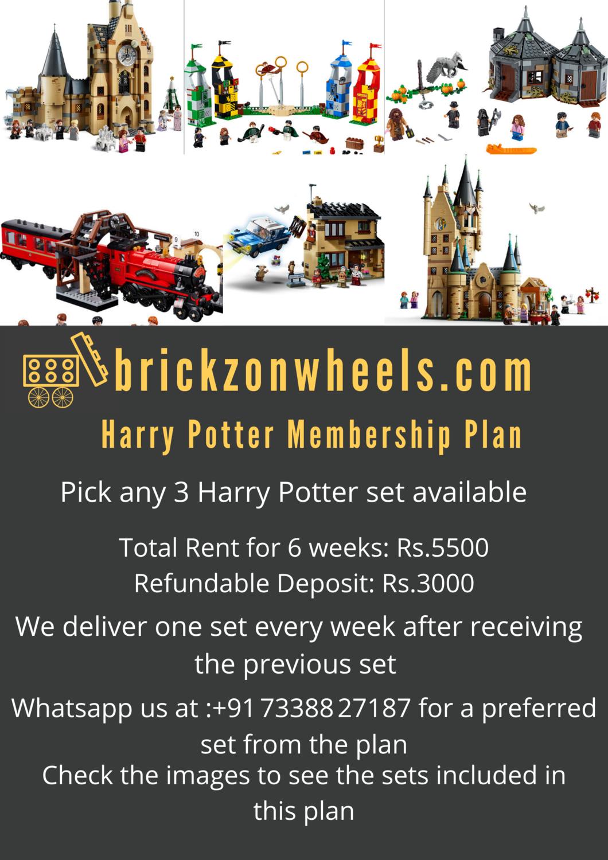 Harry Potter Plan - 6 Weeks