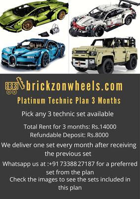 Platinum Technic Plan - 3 Months