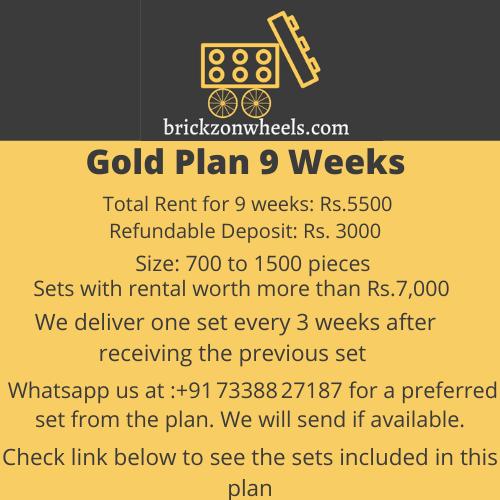 Gold Plan - 9 Weeks