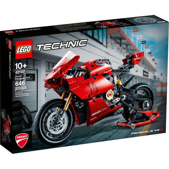 LEGO® Technic™ Ducati Panigale V4 R (42107)