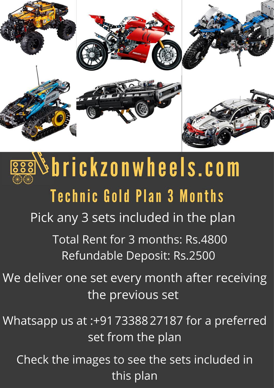 Technic Gold Plan - 9 Weeks
