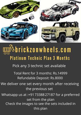 Platinum Technic Expert Plan - 3 Months