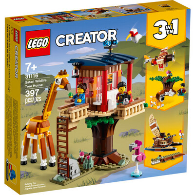 LEGO® Creator 3in1 Safari Wildlife Tree House (31116)