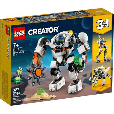 LEGO® Creator 3in1 Space Mining Mech (31115)