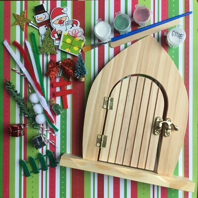 DIY Elf or Christmas Door Kit