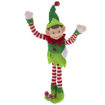 Christmas Elf with Letter and Surprise!