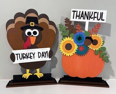 DIY Kids Thanksgiving Crafts