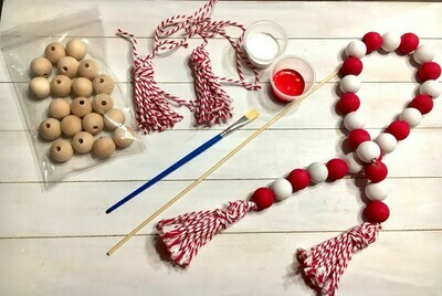 DIY Farmhouse Prayer Beads Kit