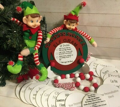 Personalized Elf Gram Daily Message