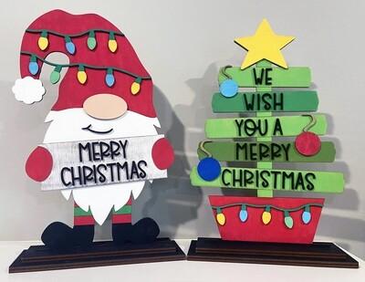 DIY Kids Gnome or Tree Painting Kit