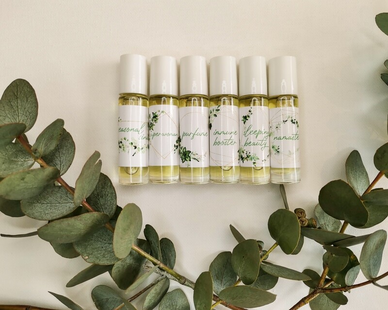 SuperWoman Essential Oil Rollers - On-the-GO